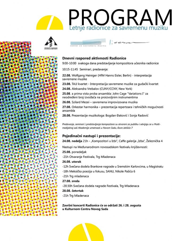 plakat Radionica 2014
