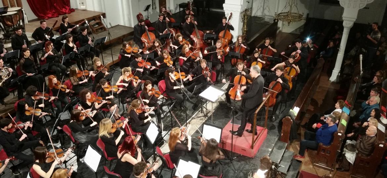 Simfonijski orkestar sede