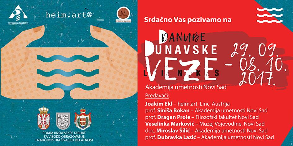 pozivnica Dunavske veze
