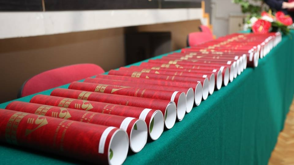Dodela diploma AUNS