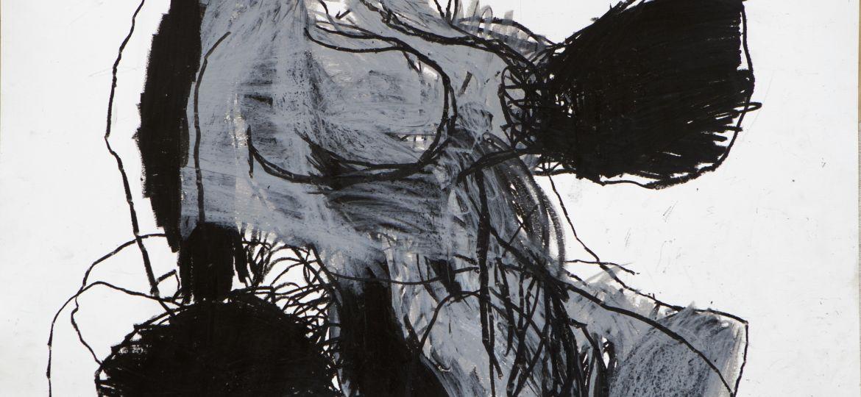 Goran Jureša crtež iz ciklusa Hana Kšiževska voštani blok na papiru