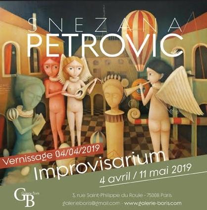 Snezana Petrovic izložba u Parizu