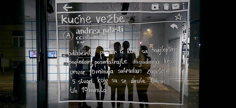 Andrea Palašti Kućne vežbe